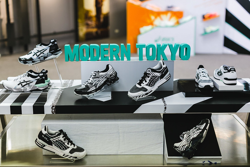 MODERN TOKYO摩登東京系列鞋款。(圖/台灣亞瑟士提供)