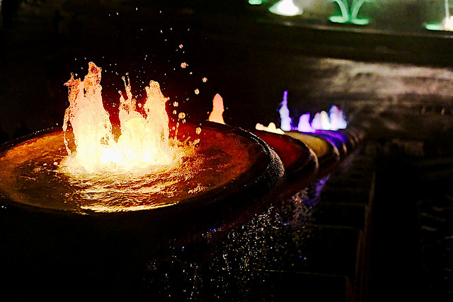 The Magic Fountain Of Montjuic - detail