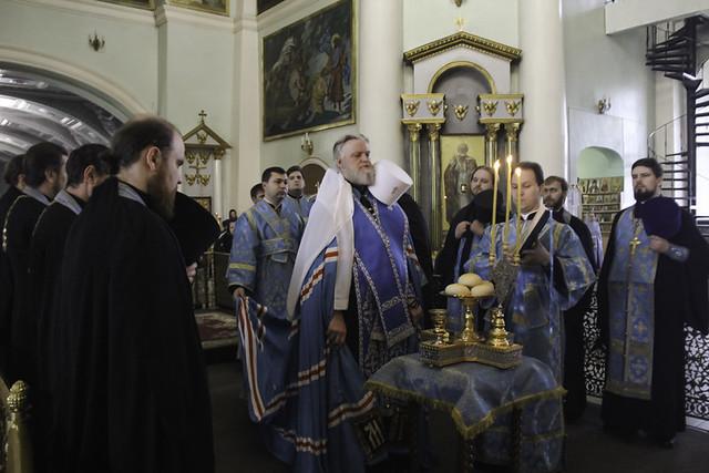 В праздник Благовещения Пресвятой Богородицы 07.04.2020