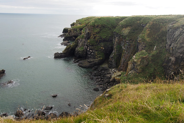 The coast south of Whinnyford