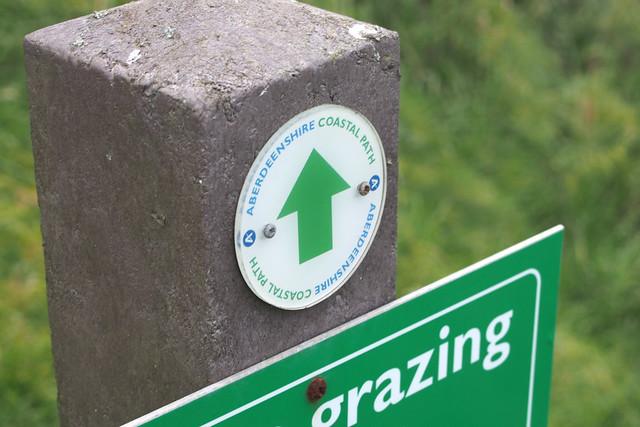 Aberdeenshire Coast path near Slains Castle