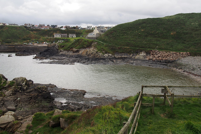 The coast at Collieston