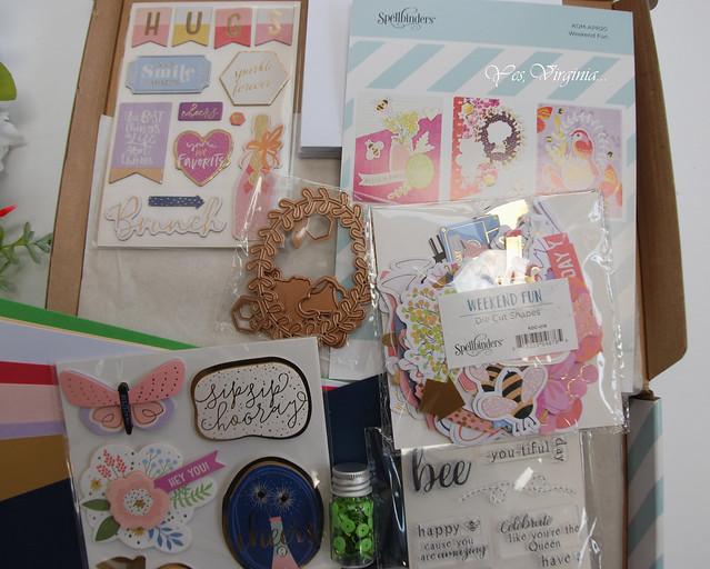 Spellbinders April Card Kit