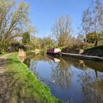 Serene canal scene at Preston