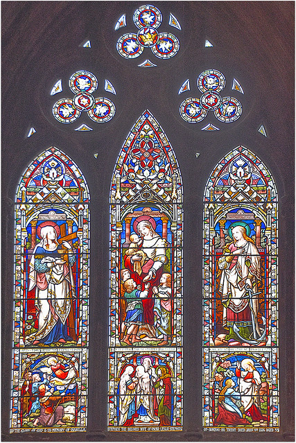 Stained Glass, Lichfield Cathedral.