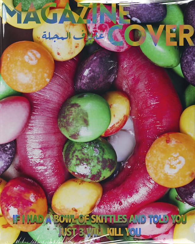 Skittles Magazine Cover