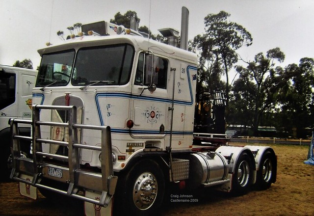 SBA Cabover Kenworth at Castlemaine