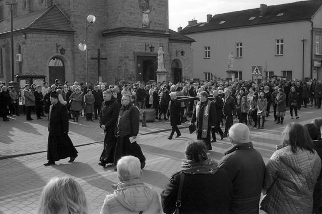 Droga krzyżowa ulicami Dobczyc