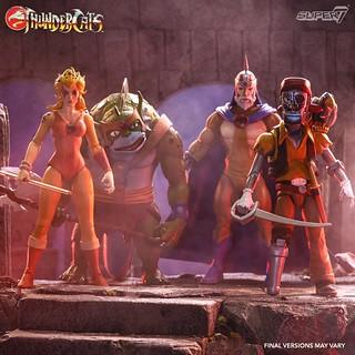 英氣煥發的神貓超級帥! Super7 ×《霹靂貓》可動人偶第三波四款角色公開! Thundercats Ultimate Figure Wave 3