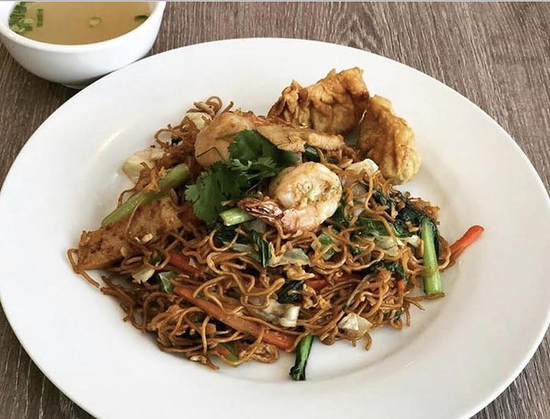 Fried Wan Ton Noodles