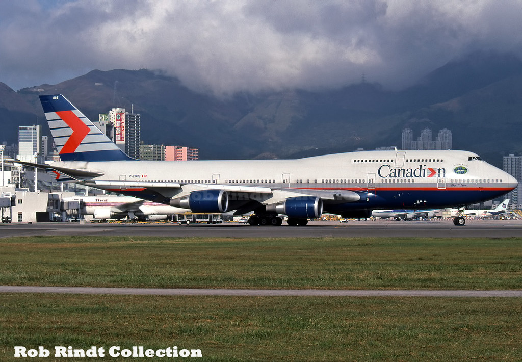 Canadian Airlines B747-4F6 C-FGHZ
