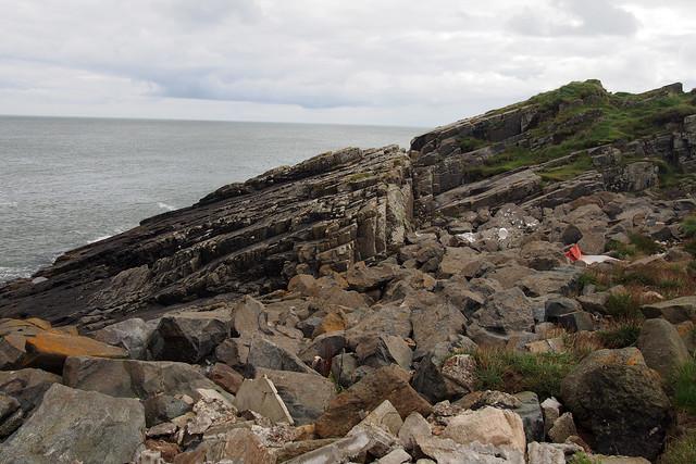 The coast north of Collieston