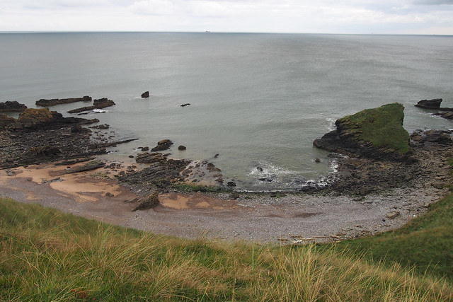 The coast south of Collieston