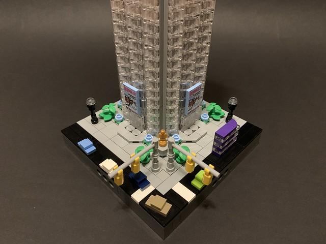 """Micropolis Highrise """"Quibbler Headquarters"""" Update"""
