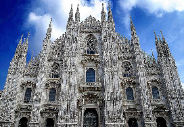 Milano, il Duomo.