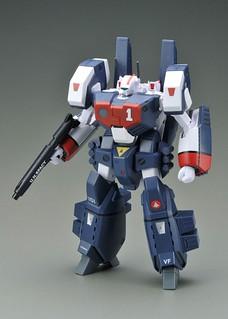 【再販】兼具防禦和重火力!ARCADIA《超時空要塞》1/60 完全變形 VF-1J 重裝甲女武神機 一條輝TYPE(超時空要塞マクロス VF-1J アーマードバルキリー)