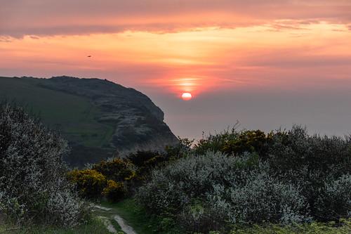 sunrise sunup dawn daybreak hastingscountrypark sky abeautifulmorning eastsussex