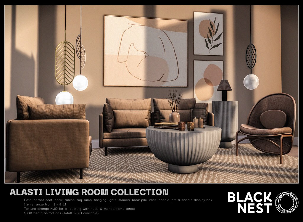 BLACK NEST / Alasti Collection / Collabor88