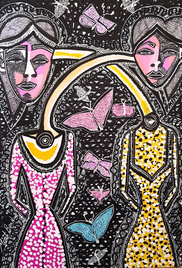 מפגשים סיור לקבוצות בסטודיו לאמנות מירית בן נון ציור מודרני ישראלי