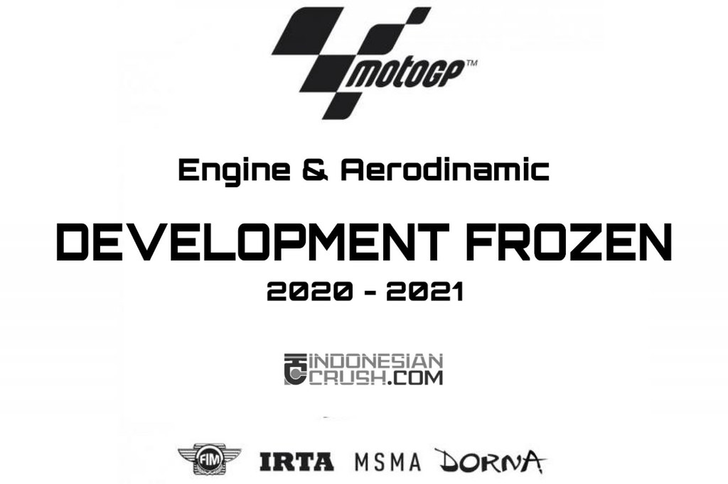 MotoGP Development Frozen