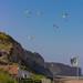 Para-Gliders - Cliffs Overlooking Omaha Beach - Sept 2019