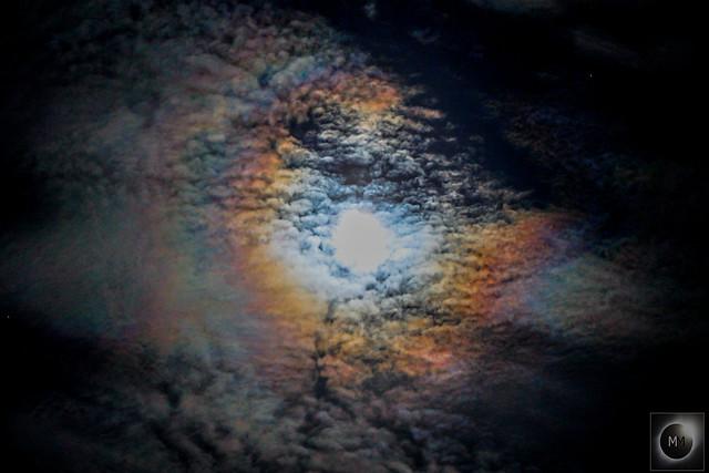 Lunar Corona 22:33 BST 07/04/20