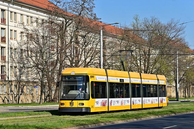 DWA Bautzen NGT6DD #2541 DVB Dresden Drezno