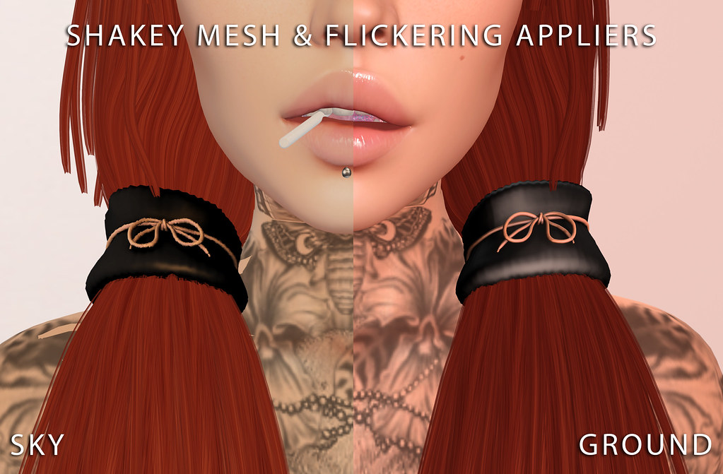Shakey Mesh | Flickering Appliers