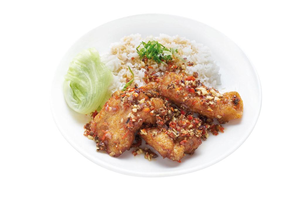Hong Kong Pork Chop Rice
