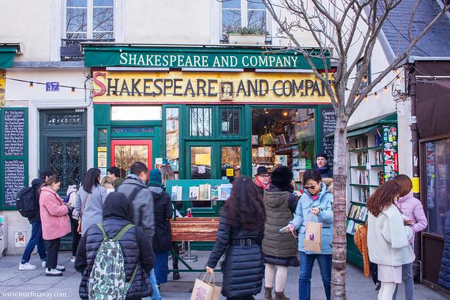 Shakespeare and Company, Quartiere Latino di Parigi