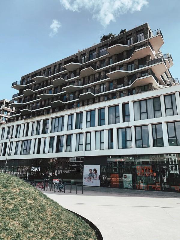 Edificio del Haize (barrio Eilandje)