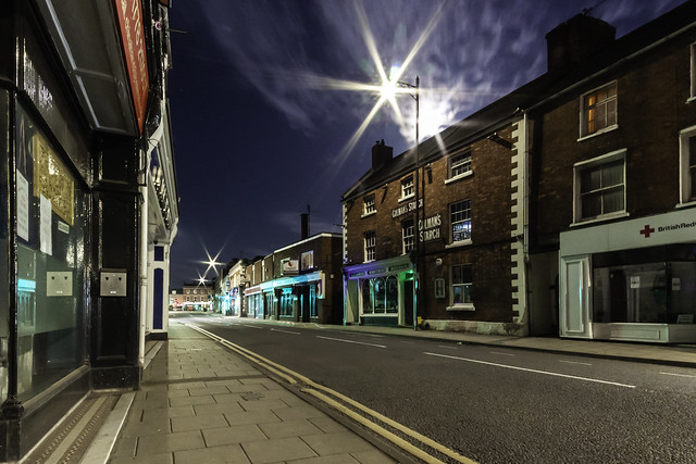 Smiths Pub at Night