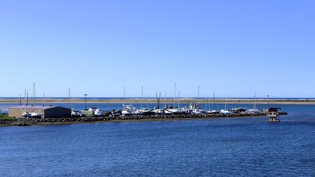 Port de pêche aux Îles !