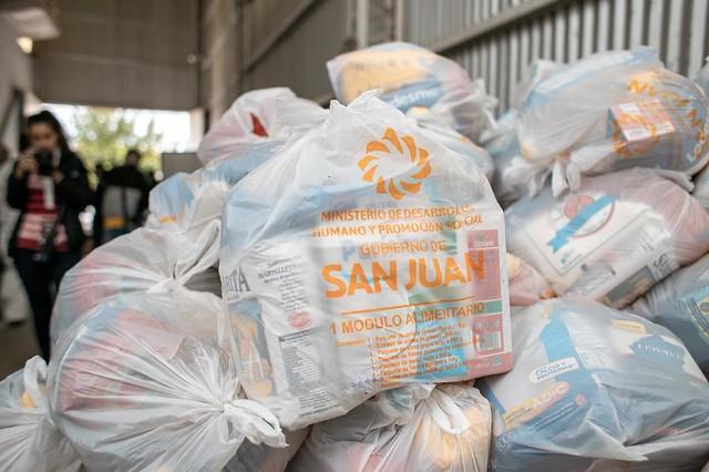 2020-04-08 DESARROLLO HUMANO: Operativos de entrega de Módulos Alimentarios de Emergencia