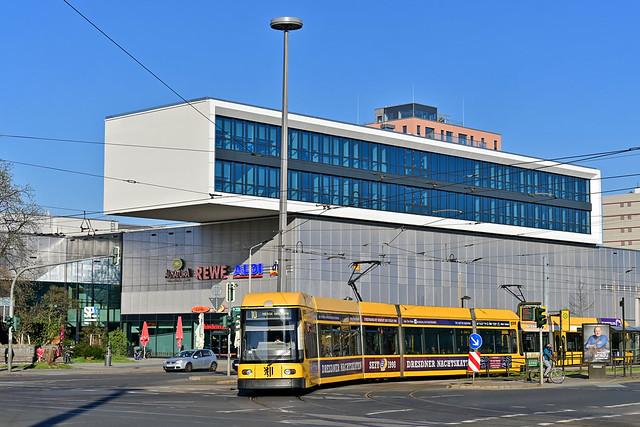 DWA Bautzen NGT6DD #2538 DVB Dresden Drezno