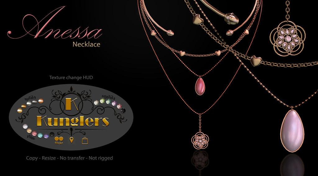 KUNGLERS – Anessa necklace – Vendor