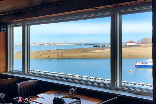 lighthouse window restaurant harbor 0320 wednesday boat atethere large 2020 scituate massachusetts unitedstatesofamerica