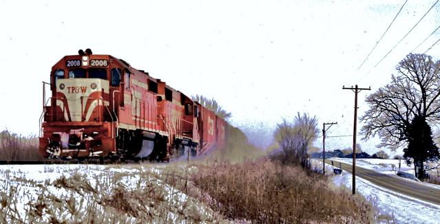 TP&W 2008 (EMD GP38-2)