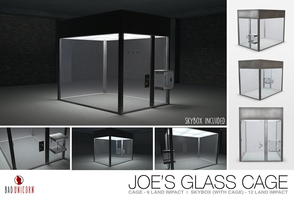 NEW! Joe's Glass Cage @ C88