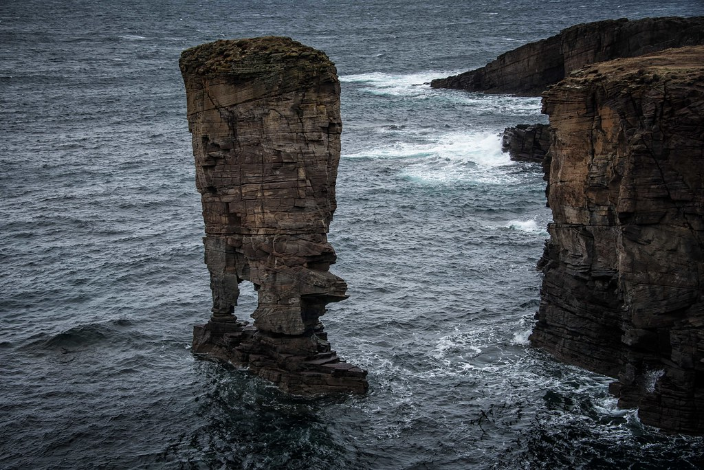 Yesnaby Castle sea stack