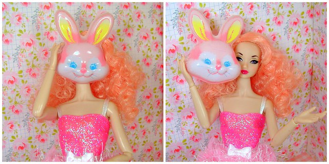 Easter Bunny Amelie collage