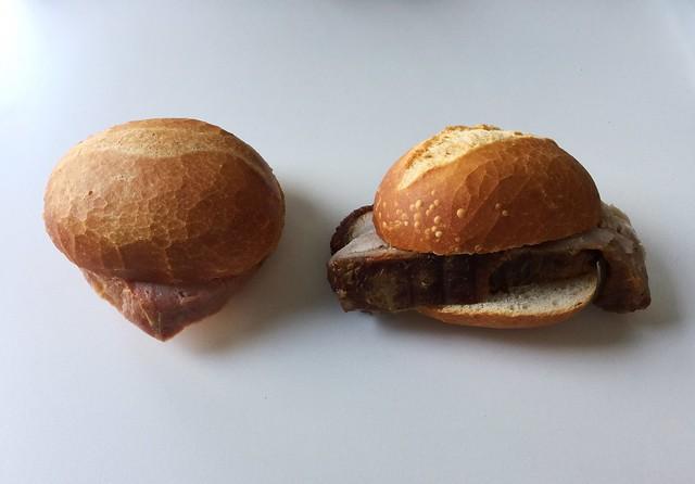 Meatloaf & Roast bun / Leberkäs- & Bratensemmel