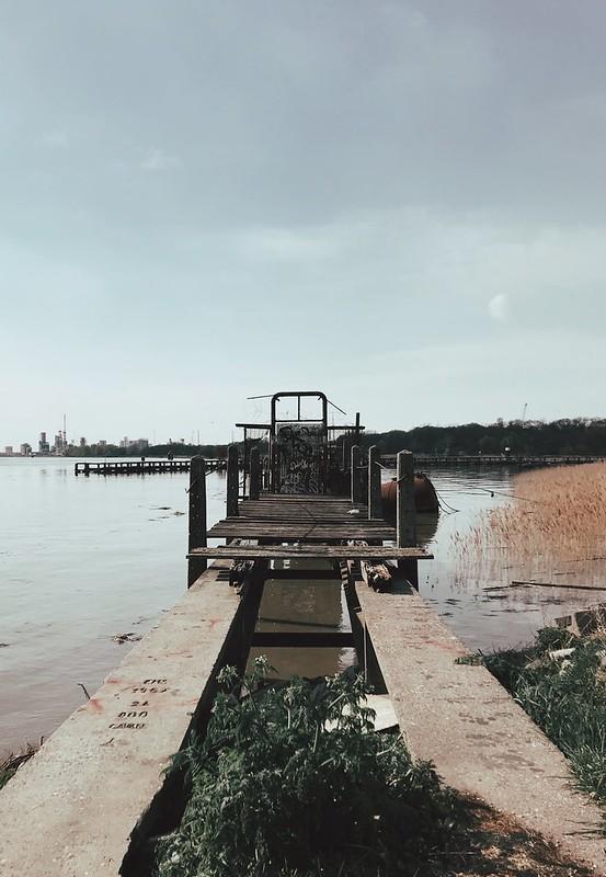 Puerto antiguo Amberes