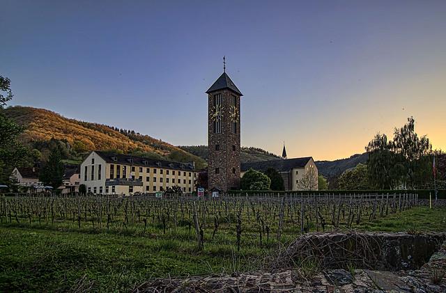 Das Kloster Ebernach_Cochem an der Mosel