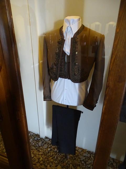 vestido de jinete Sala del Traje Museo del Enganche Jerez de la Frontera Cadiz 22