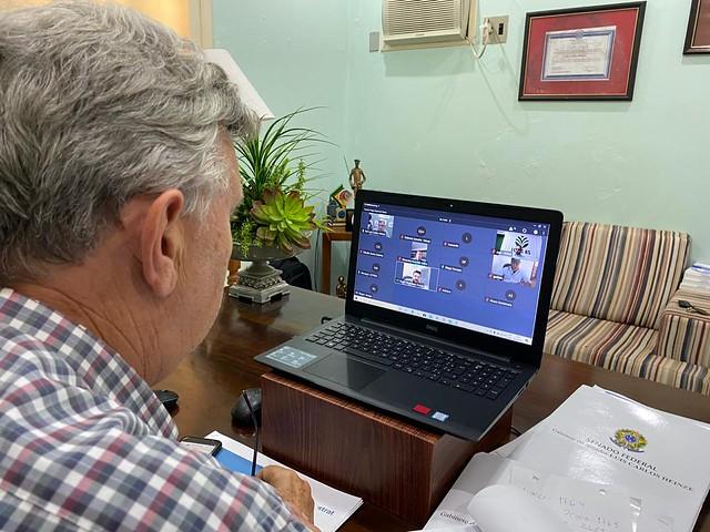 06/04/2020 Tele-reunião com Banco do Brasil e entidades