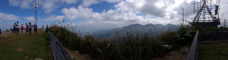 23 Panorama view on the summit of Mt. Keelung