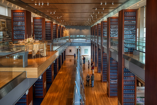 Main Gallery, William J. Clinton Presidential Library And Museum, Little Rock, Arkansas