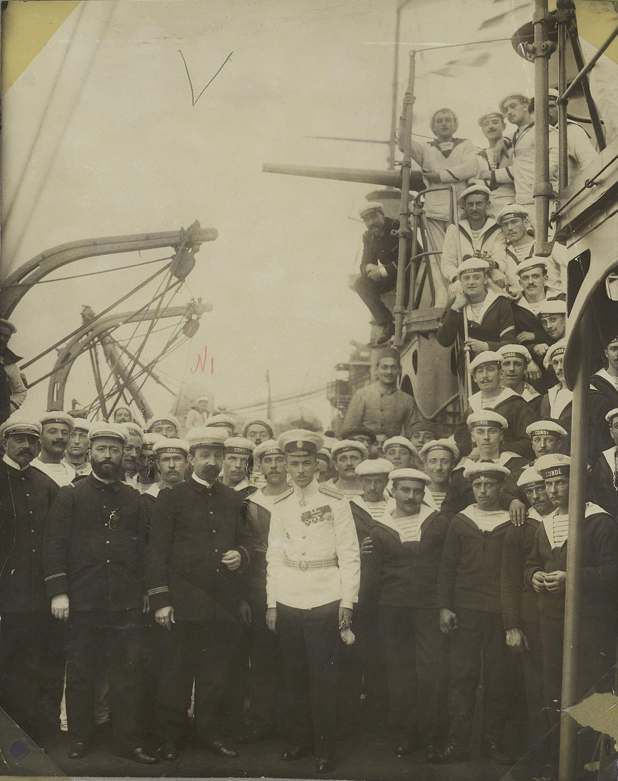 20. Команда корабля Conde 1901-1902 гг.