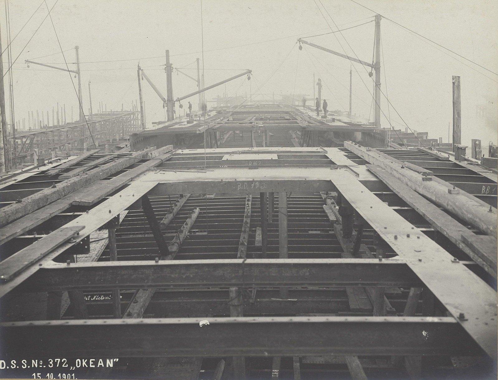 02. Строительство учебного судна «Океан». 15 октября 1901 г.